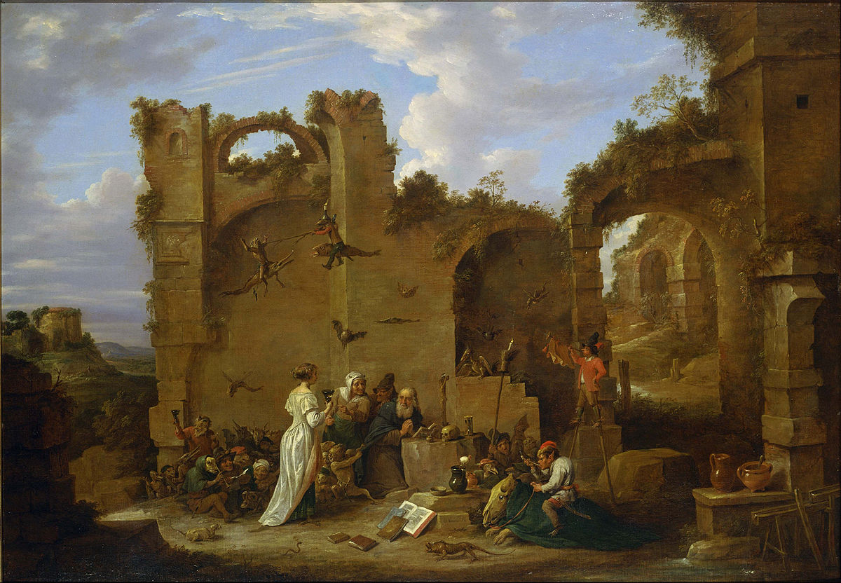 David Teniers, the Younger - The Temptation of St. Anthony - Google Art Project.jpg