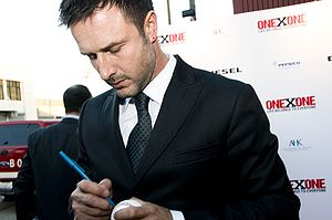 David Arquette at the ONEXONE benefit in San F...