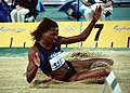 Dawn Burrell at the 2000 Olympic games in Sydney.JPEG