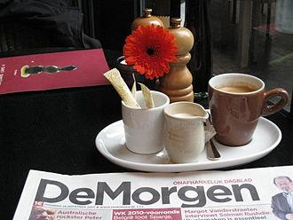 De Morgen - De Morgen of 26 November 2007.