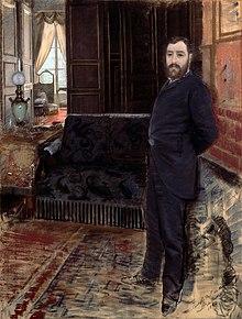 Autoritratto, 1883-84, Barletta, Pinacoteca De Nittis