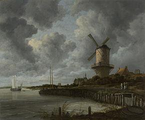 Le Moulin près de Wijk bij Duurstede