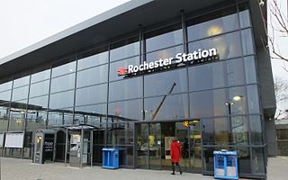 railway station in Rochester, Kent, England