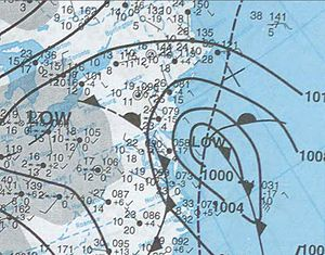 December 2000 nor'easter - Image: December 30, 2000 snowstorm map
