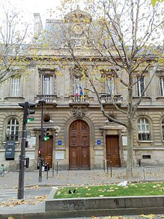 Collège-lycée Jacques-Decour school located in Paris, in France