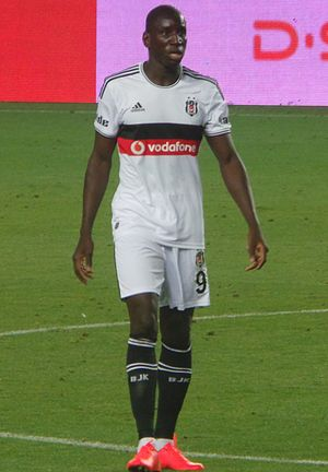 Demba Ba - Ba playing for Beşiktaş in 2014