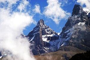 Chablais Alps - Image: Dent Jaune
