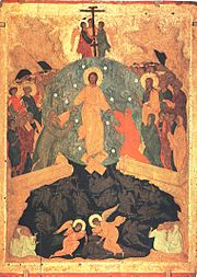 Descent into Hell by Dionisius and workshop (Ferapontov monastery)