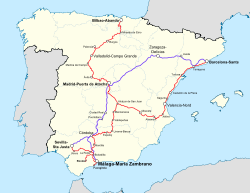 Destinations from Málaga-María Zambrano Station.svg