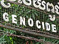 Detail of Sign with Barbed Wire - Tuol Sleng Genocide Museum - Phnom Penh - Cambodia - 02 (48322345427).jpg