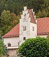 Detail van Wehrkirche in Kinding . Locatie Kinding Opper-Beieren Duitsland 02.jpg