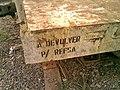 """Detalhe do vagão abandonado no pátio da Estação Pimenta """"Nova"""" - Variante Boa Vista-Guaianã km 217 em Indaiatuba - panoramio.jpg"""