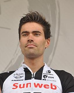 Tom Dumoulin Dutch road cyclist