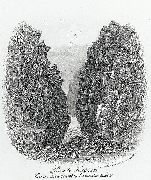 File:Devils' Kitchen, near Llanberis, Caernarvonshire.jpeg
