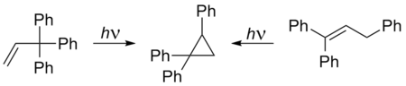 Di-p-methane rearrangement to 1,1,3-triphenylcyclopropane.png