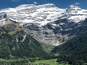 Diablerets - Image: Diablerets 3210 m