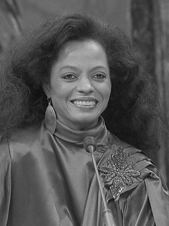 Michigan Women's Hall of Fame - Image: Diana Ross (1981)