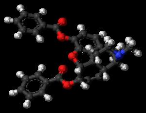 Dibenzoylmorphine - Image: Dibenzoylmorphine molecule ball