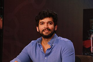 Diganth Indian film actor and a former model