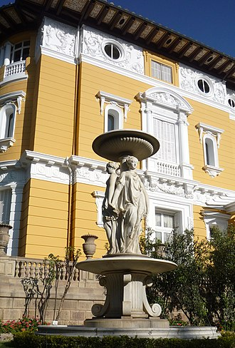 Cochabamba - Palacio Portales built for mining magnate Simon Patiño
