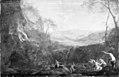 Dirck van der Lisse - Landscape with Diana and Nymphs - KMSsp747 - Statens Museum for Kunst.jpg