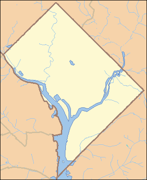 Locator Map of the District of Columbia, Unite...