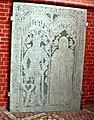 Doberaner Münster, Grabplatte Matthias v Axekow u Ghese v Bibow.jpg
