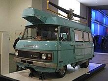 69db07ee1fee66 Dodge-badged SpaceVan equipped as TV detector van. Displayed at Science  Museum