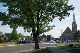 Dolbeau-Mistassini City in Quebec, Canada