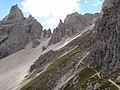 Dolomites - Alta Via 2, Stage 02-11 Rifugio Genova to Rifugio Puez - panoramio (8).jpg