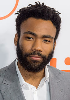 Donald Glover American actor, rapper, comedian and film, television and record producer