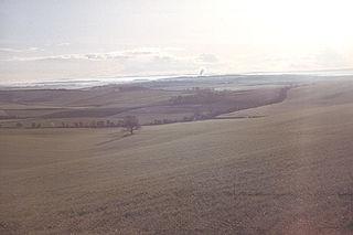 Dorset Downs hill in the United Kingdom