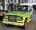 Douai - Véhicule aux couleurs de Jurassic Park, boulevard Paul-Hayez (01).JPG