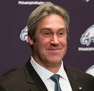 Doug Pederson - Pederson at his first press conference in 2016.
