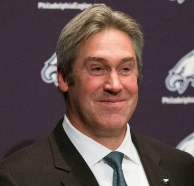 Doug Pederson has been head coach of the Eagles since 2016 Doug Pederson (Eagles).jpg