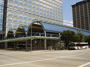 Downtown Transit Center (METRORail station)