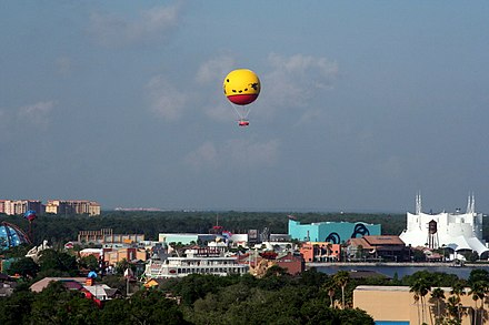 View of Disney Springs Downtown Disney - Characters in Flight panorama - retouched.jpg