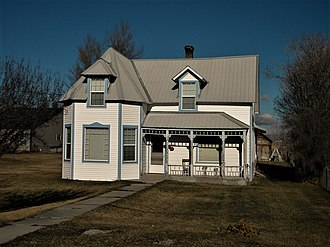 National Register of Historic Places listings in Bear Lake County, Idaho - Image: Dr. George Ashley House NRHP 82000261 Bear Lake County, ID