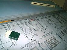 380892475f226 Imagem de uma prancheta de desenho, método de trabalho tornado obsoleto  após a criação do CAD.