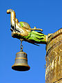 Dragon and bell on top of Jokhang roof.jpg