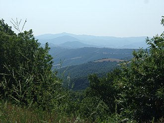 Mount Chortiatis - A view