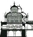 Dresden Erstes Belvedere Schnitt Giovanni Maria Nosseni.jpg