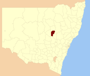 City of Dubbo - Location in New South Wales