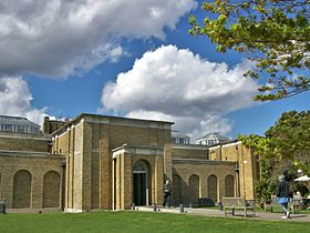 Dulwich Picture Gallery, main entrance.JPG