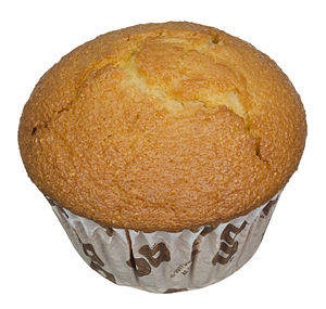 Cornmeal - A corn muffin.