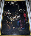 Duomo di colle, int., cappelle di sx, 02, altare natività di rutilio manetti, 1635, 02.JPG