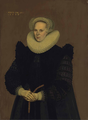 Dutch School Portrait of a Lady dated 1599.png
