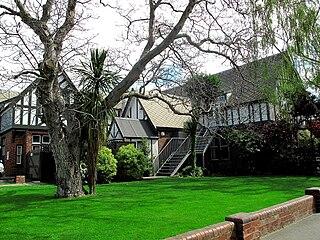 Dux de Lux beer garden in Christchurch, New Zealand
