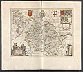 Dvcatvs Eboracensis Pars Occidentalis - Atlas Maior, vol 5, map 48 - Joan Blaeu, 1667 - BL 114.h(star).5.(48).jpg