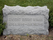 Dwight Deere Wiman Personal life amp Death edit